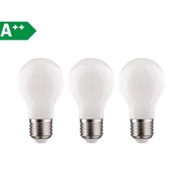 3 lampadine LED Lexman Filamento E27 =100W goccia luce fredda 360°