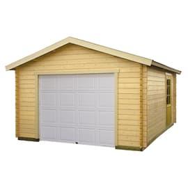 Garage in legno grezzo Suomi, 24,77 m²