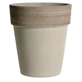 Vaso Alto Vulcano ø 19 cm grigio