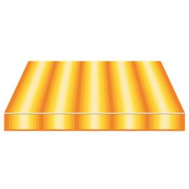 Tenda da sole a caduta cassonata Tempotest Parà 240 x 250 cm arancione/giallo/avorio Cod. 770/55