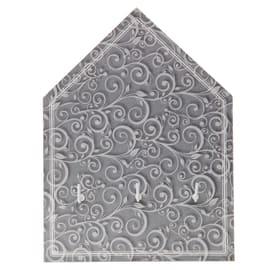 Bacheca porta chiavi Arabesque 3 posti Fantasia 22 x 3 x 15 cm
