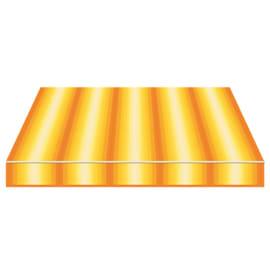 Tenda da sole a bracci Tempotest Parà 300 x 210 cm arancione/giallo/avorio Cod. 770/55