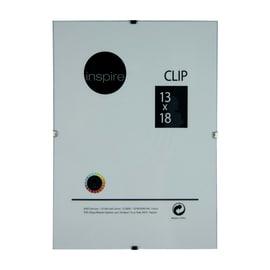 Cornice a giorno Clip Inspire trasparente 13 x 18 cm