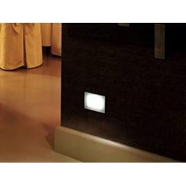 Faretto incasso per esterno a pavimento Next LED 6,6 x 6,6 cm IP67