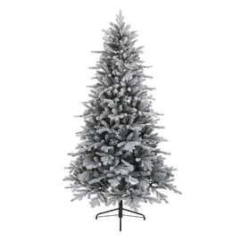 Albero di Natale artificiale Cervino Frost H 240 cm