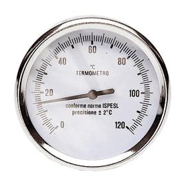 Termometro attacco posteriore Ø 80 mm