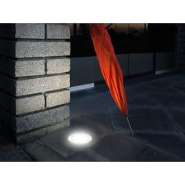 Faretto incasso per esterno a pavimento Next LED Ø 6,6 cm IP67