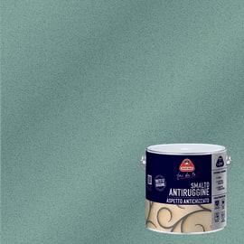 Smalto per ferro antiruggine Boero grigio  grana fine antichizzato 2 L