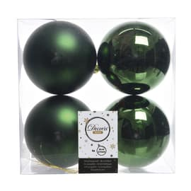 Box sfere verdi ø 10 cm