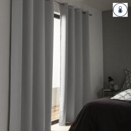 Tenda Stop Cold termica Oscurante occhielli grigio 140 x 280 cm