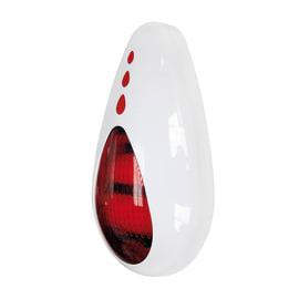 Kit allarme senza fili T-One sirena a batteria da esterno 110 dB bianco