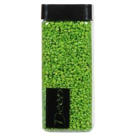 Sassi e graniglia decorativa verde 0,8 g