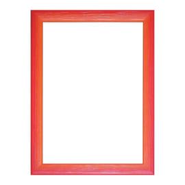Cornice Bicolor rosso 13 x 18 cm