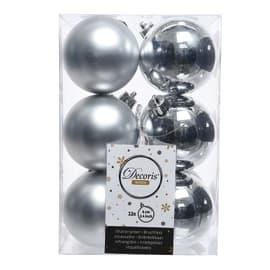 Box sfere argento ø 6 cm