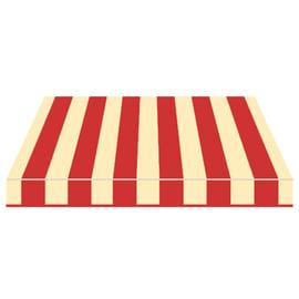 Tenda da sole a bracci Tempotest Parà 350 x 210 cm beige/rosso Cod. 61