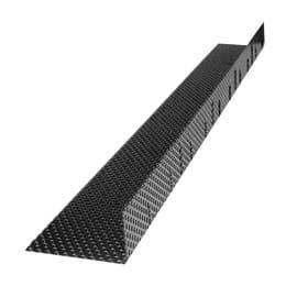 Griglia parapasseri coppo embrice Onduline 100 cm marrone in acciaio preverniciato