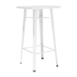 Tavolo Industrial alto, 60 x 60 cm crema
