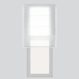 Tenda a pacchetto bianco 60 x 250 cm