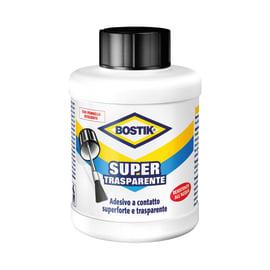 Colla a contatto supertrasparente con pennello Bostik 400 ml
