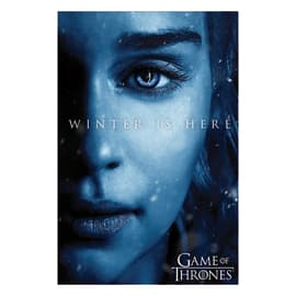 "Poster Game of Thrones - ""Winter is here Daenery"" 61 x 91,5 cm"