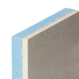 Lastra di cartongesso accoppiata con isolante 120 x 200 cm, spessore 33 mm