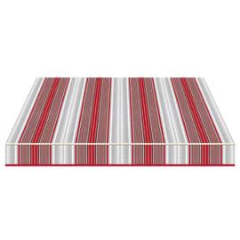 Tenda da sole a bracci Tempotest Parà 350 x 210 cm rosso/grigio/avorio Cod. 5167/11