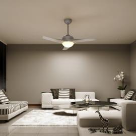 Ventilatore da soffitto con luce Guillin