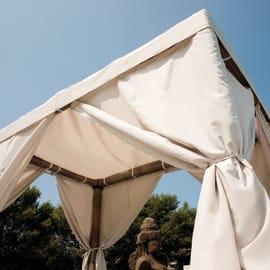 Gazebo per lettini Costarica copertura beige 2,2 x 1,7 m