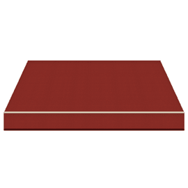 Tenda da sole a bracci Tempotest Parà 240 x 210 cm rosso Cod. 84
