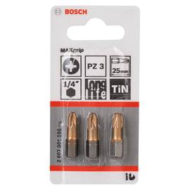 Inserti pozidriv 3 Bosch