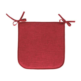Cuscino per sedia Lastrina joy rosso 40 x 40 cm