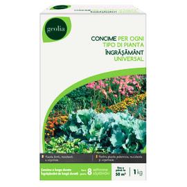 Concime universale per tutte le piante Geolia 1 kg