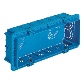 Scatola rettangolare Vimar 0RV71306 azzurra