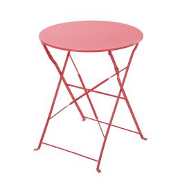 Tavolo Flora Origami rosso