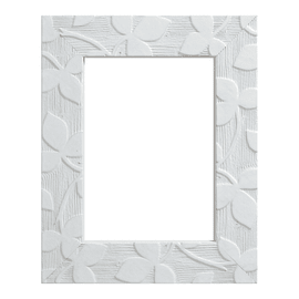Cornice Varenne bianco 13 x 18 cm