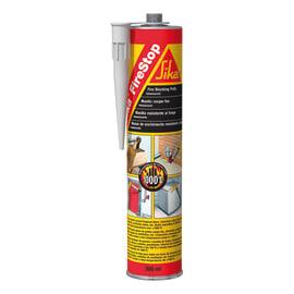 Sigillante silicato inorganico polimerizzato Firestop nero Sika 300 ml, per cemento, terracotta, laterizi