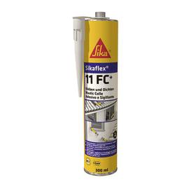 Sigillante poliuretanico Sikaflex 11 FC+ nero Sika 300 ml, per cemento, vetri, metallo