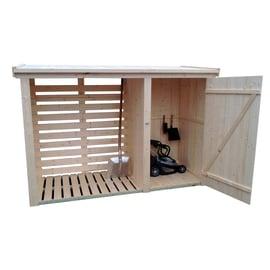 Legnaia in legno Werneri 2,14 m², spessore 12 mm
