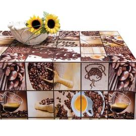 Tovaglia plastificata Caffè marrone 160 x 120 cm