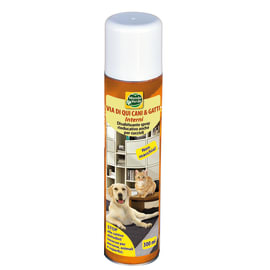 Disabituante spray Via di qui Cani & Gatti interni Mondo Verde 300 ml