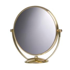 Specchietto ingranditore Appoggio struturra metallo 23 x 23 cm