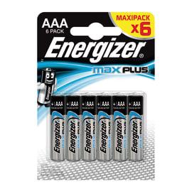 Batteria alcalina ministilo AAA Energizer Max Plus 6pz