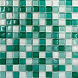 Mosaico Tourquoise mix 30 x 30 cm azzurro