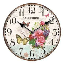 Orologio Butterfly 34x34