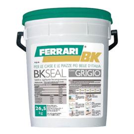Sabbia bicomponente Bk Seal grigio 26,5 kg