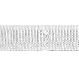 Fettuccia per tende a pacchetto termoadesivo 6 m x 16 mm
