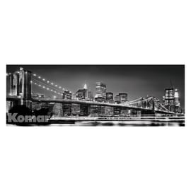 Fotomurale Brooklyn bridge multicolor 368 x 127 cm