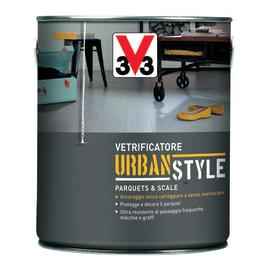 Vetrificatore V33 Urban Style nero brillante 2.5 L
