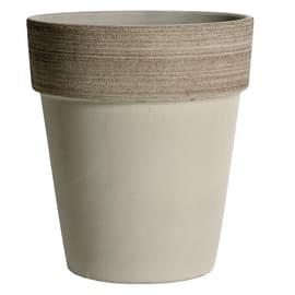 Vaso Alto Vulcano ø 27 cm bianco