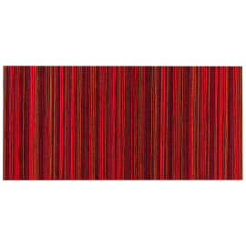 Tappetino cucina antiscivolo Deco stripes rosso 53 x 75 cm